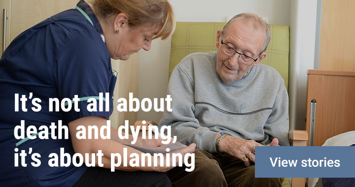 It's not all about death and dying, its about planning